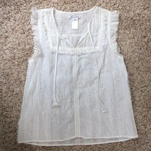Alice + Olivia sleeveless cotton top